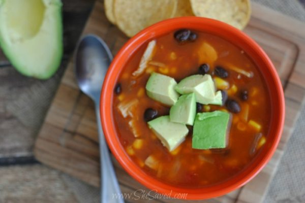 Easy Chicken Enchilada Soup Recipe
