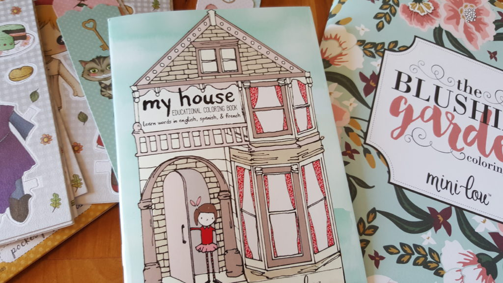 My house coloring book