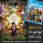 Follow Me in LA! ALICE THROUGH THE LOOKING GLASS Red Carpet Event #ThroughTheLookingGlassEvent