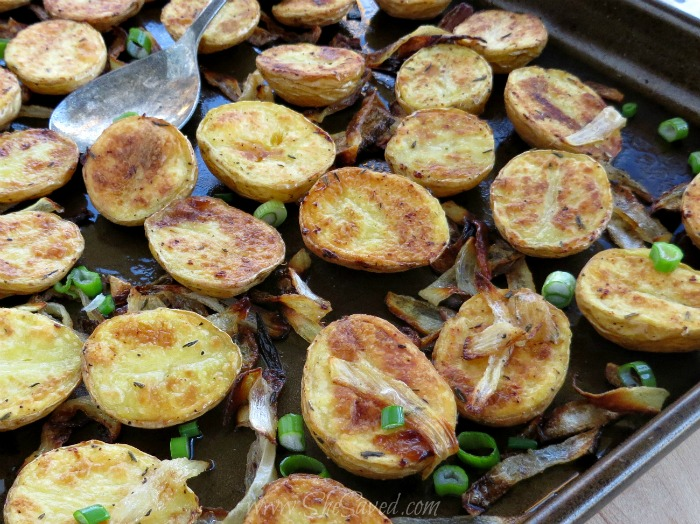 Oven Roasted Potatoes and Onions
