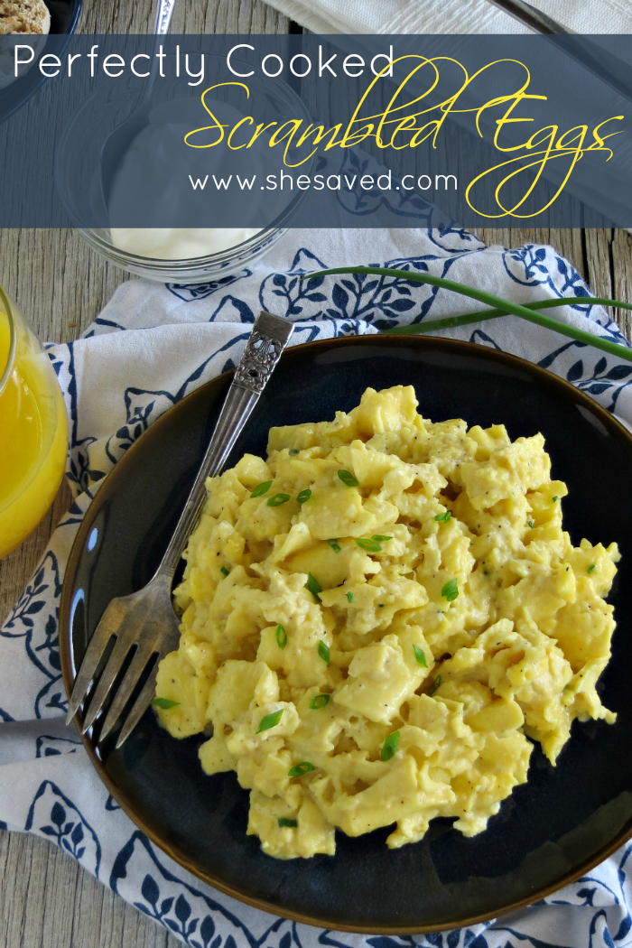 Wondering How to Cook Scrambled Eggs? I have finally perfected my scrambled egg recipe and now you can too, it's easy and the best scrambled eggs that you have ever tasted, I promise!