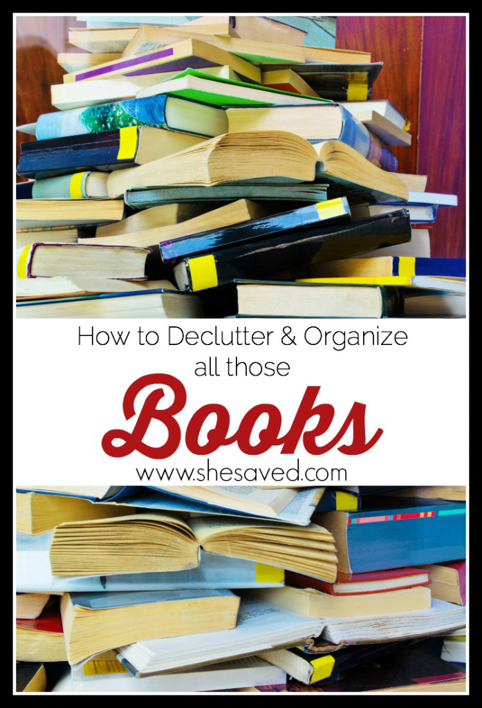 If you love books like I do then you know how quickly they can take over your life! Here are my tips on how to declutter and organize books to keep you sane!