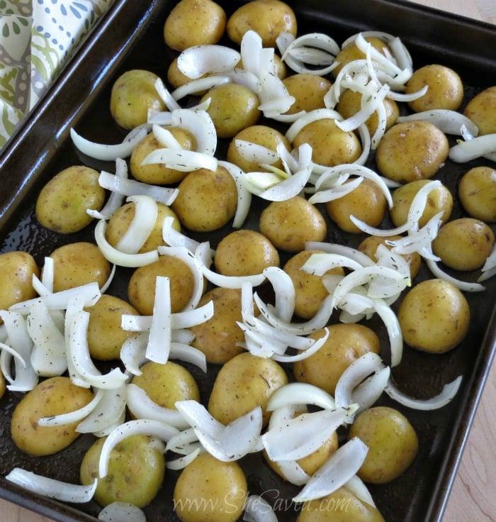 Oven Roasting Potatoes
