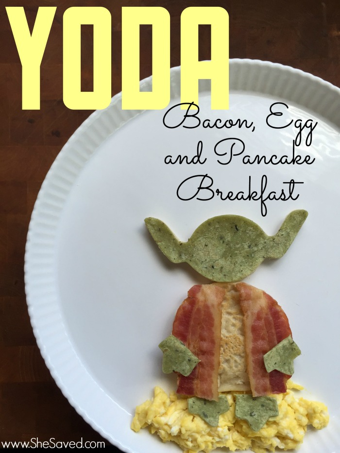 If you have Star Wars fans then make sure to check out this special Yoda Star Wars breakfast! It's easy and fun and will be a sure hit with young jedi warriors!