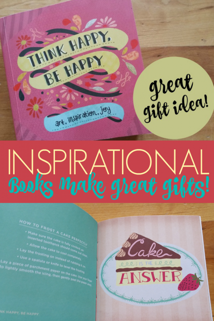 If you are looking for an inspirational gift idea, this Think Happy Be Happy Book is such a great little book for just about anyone, I love it!
