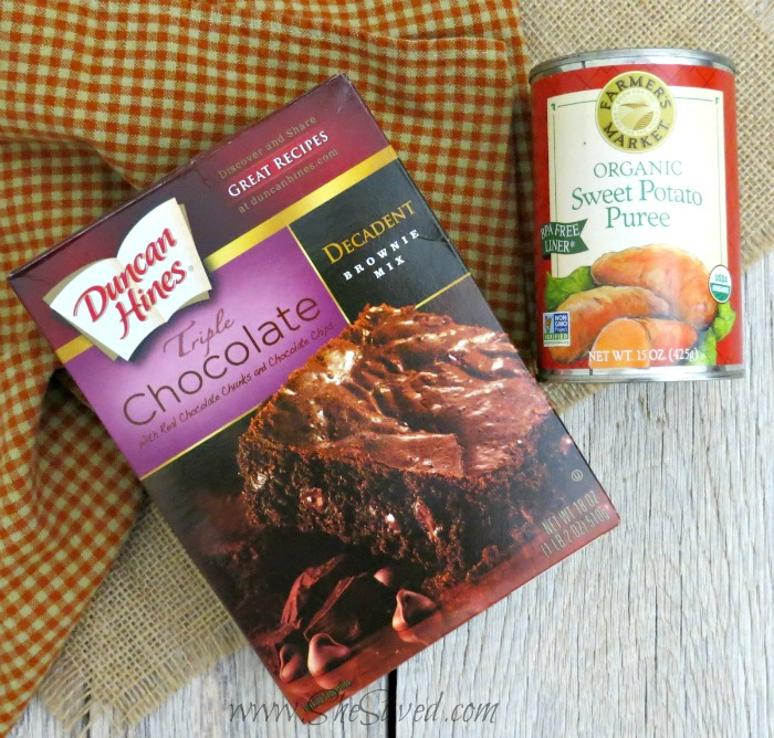 Ingredients for Sweet Potato Brownies