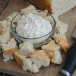 Garlic Dip and Beer Bread