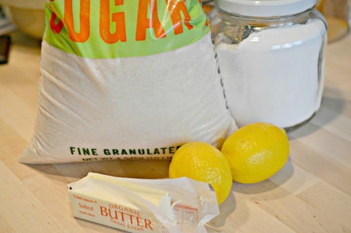 Lemon Butter Ingredients