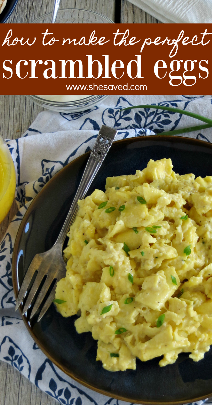 How to make the perfect scrambled eggs every time with this fail proof recipe