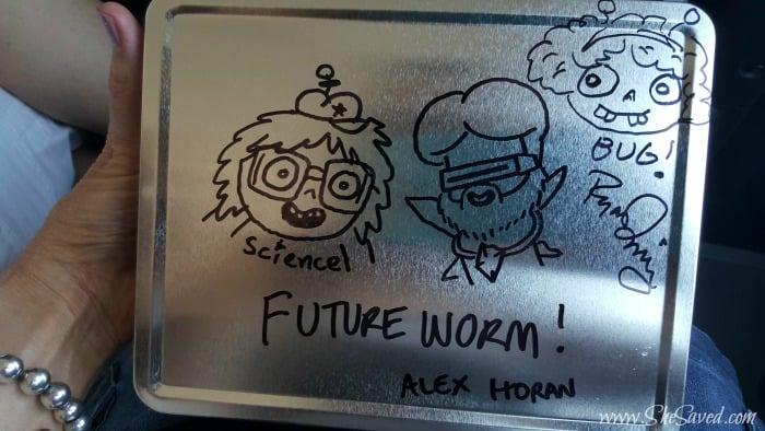 Future Worm Sketch
