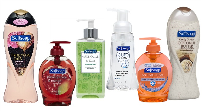 Softsoap product line