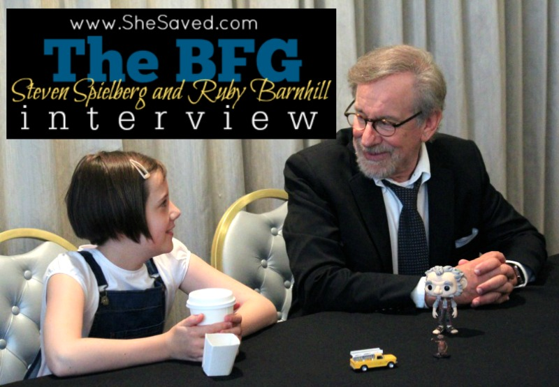 Read my Steven Spielberg and Ruby Barnhill interview to find out what it was like filming THE BFG