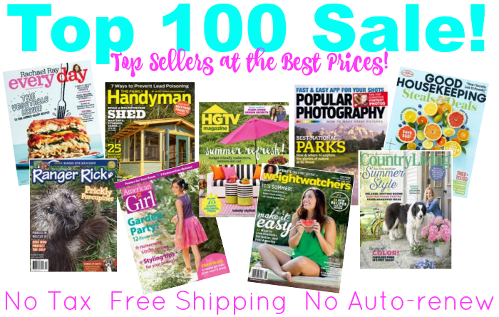 Top 100 Magazine Sale