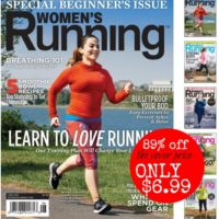 *HOT* Women's Running Magazine Subscription 89% Off Cover Price!