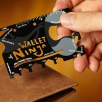 GREAT Gift Idea for Dad: Wallet Ninja 18-in-1 Tool for $7.99 Shipped!