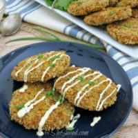 Recipe for Salmon Patties and Mustard Sauce