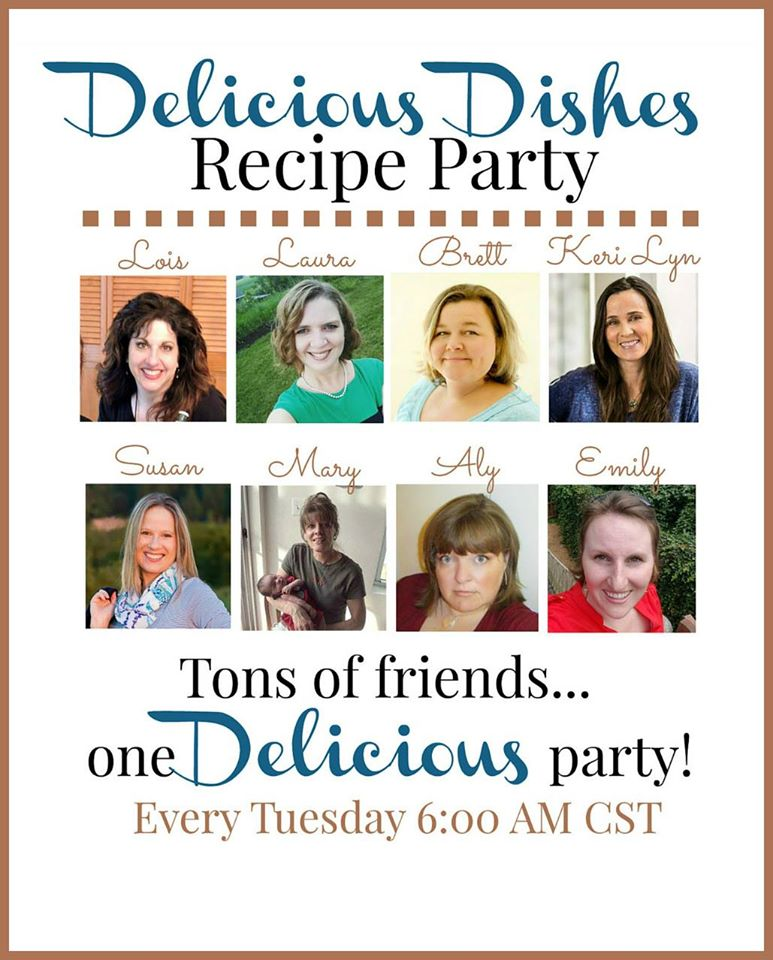Delicious Dishes Recipe Party Promo July 2016