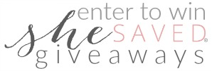 Shesaved Giveaways