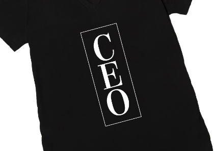 Be a BOSS with this Darling CEO Shirt!