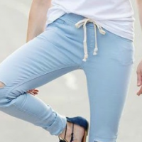 Drawstring Jeans! 1/2 off PLUS free shipping!