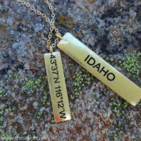 *Extended* Home is Where the Heart Is! State Necklaces: $11.99 + FREE Shipping