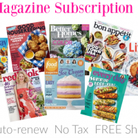 *HOT* $5 Magazine Subscription Sale! GREAT Titles: Food Network, Martha Stewart Living + MORE!