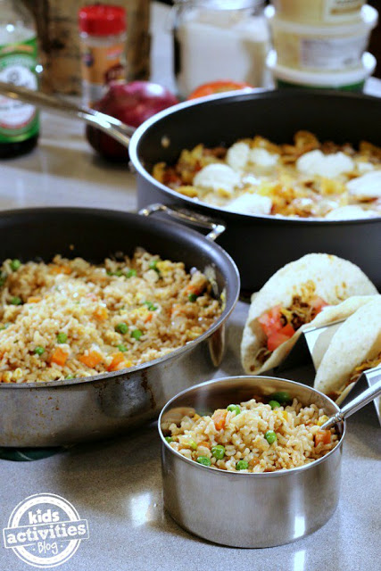 Back to School Dinner Ideas from Kids Activities Blog