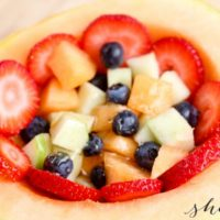 Cantaloupe Fruit Bowl Recipe