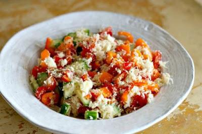 Cauliflower Tabouli from Produce Gathering