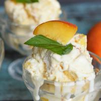 Peach Mango Ice Cream Recipe