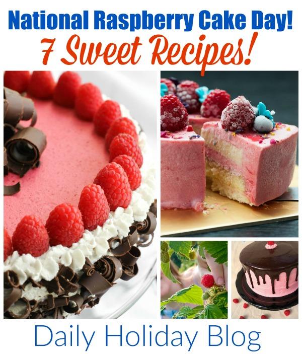 National-Raspberry-Cake-Day