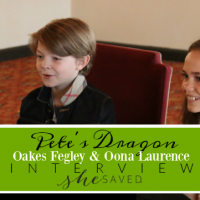 The Young Stars of Disney's Pete's Dragon: Oakes Fegley and Oona Laurence Interview