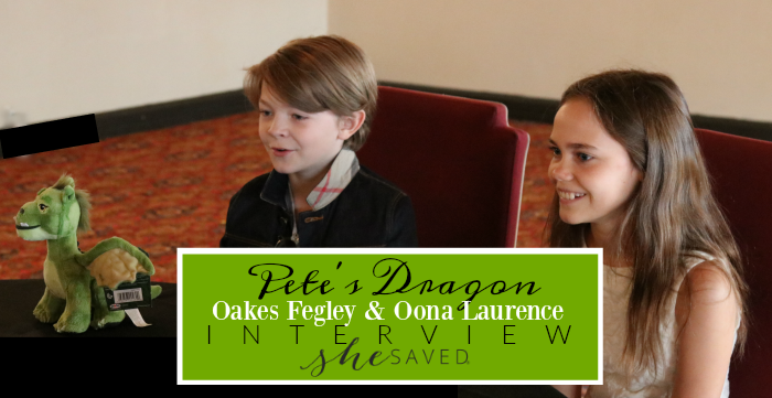 Love Pete's Dragon? Check out my interview with child stars Oakes Fegley and Oona Laurence talk about their experience filming this Disney movie!
