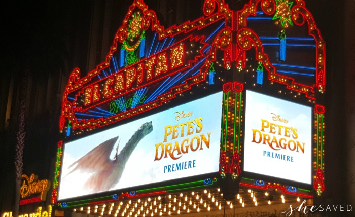 Pete's Dragon Marquee