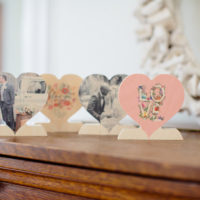 FREE Wooden Photo Heart (just pay shipping!) + Each Additional Heart ONLY $5!