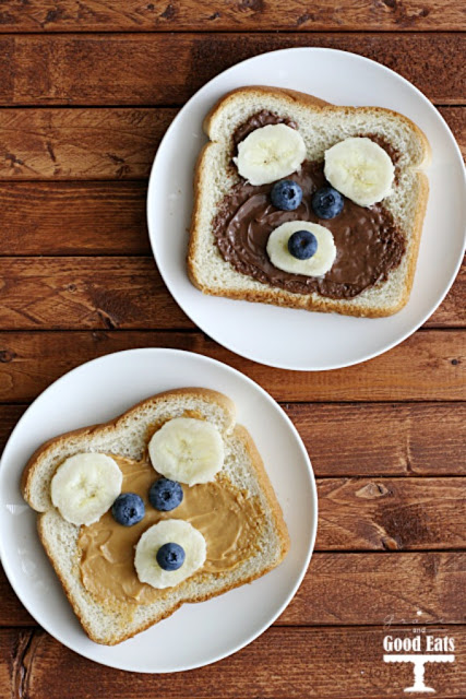 Teddy Bear Toast from Grace and Good Eats
