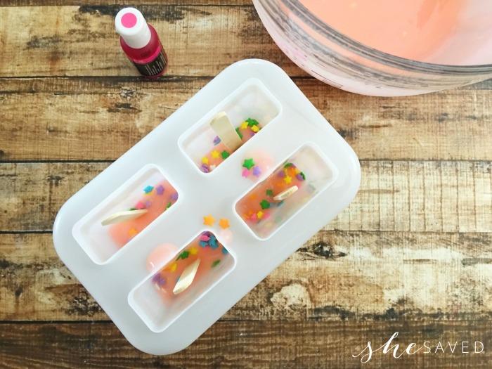 Sprinkles in Popsicles