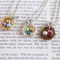 Great Gift Idea: Personalized Mama Bird Nest Necklace for $9.99