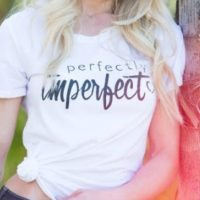 Perfectly Imperfect Tee for $16.95 + FREE Shipping