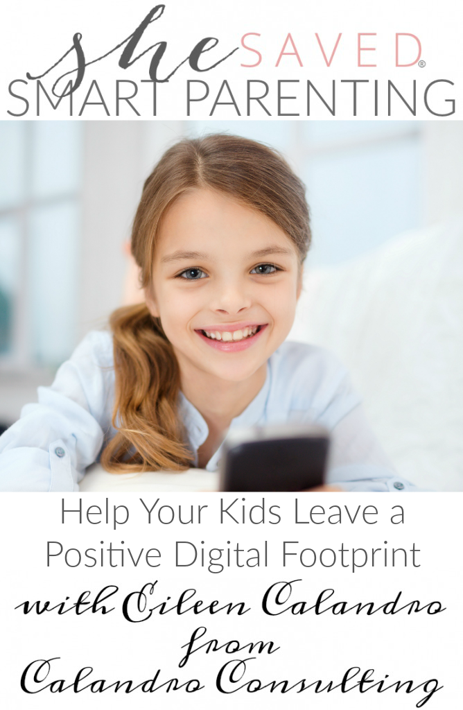 It's so important to help your kids leave a positive digital footprint! Here are some tips for making sure that you are doing just that!