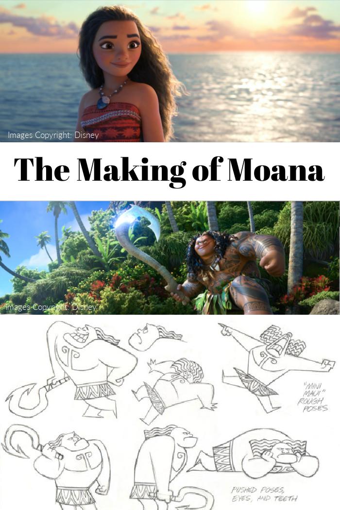 Making of Moana