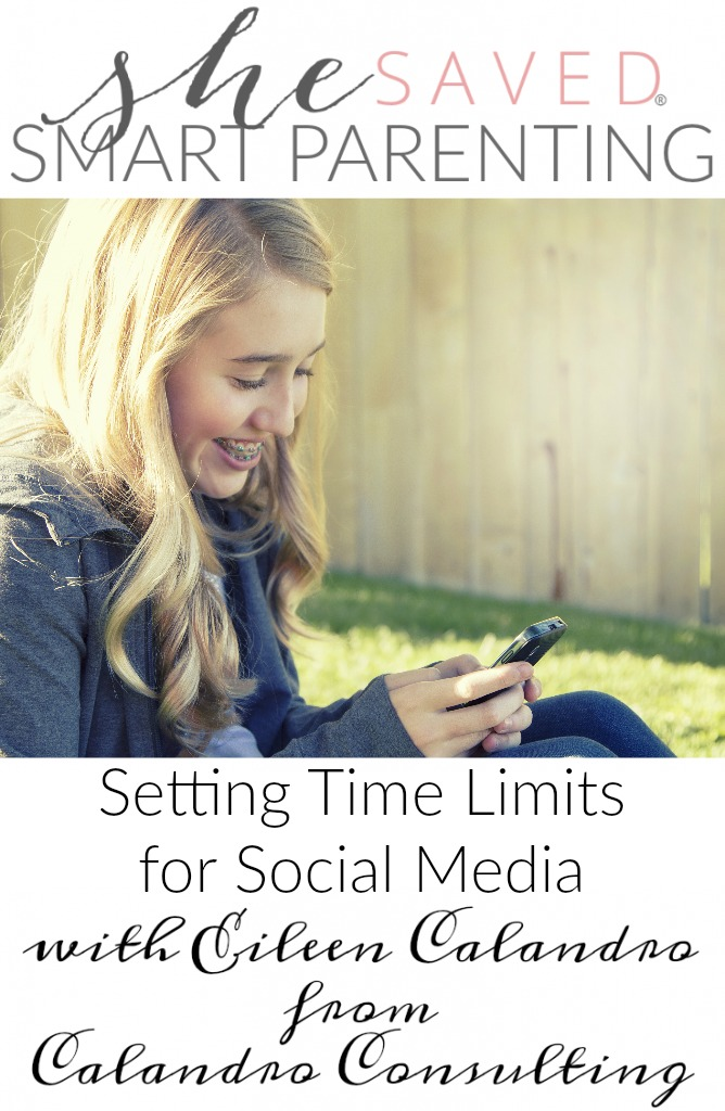 If you have a hard time Setting Time Limits for Social Media when it comes to your kids, this article will really help set up some nice boundaries that everyone can live with!