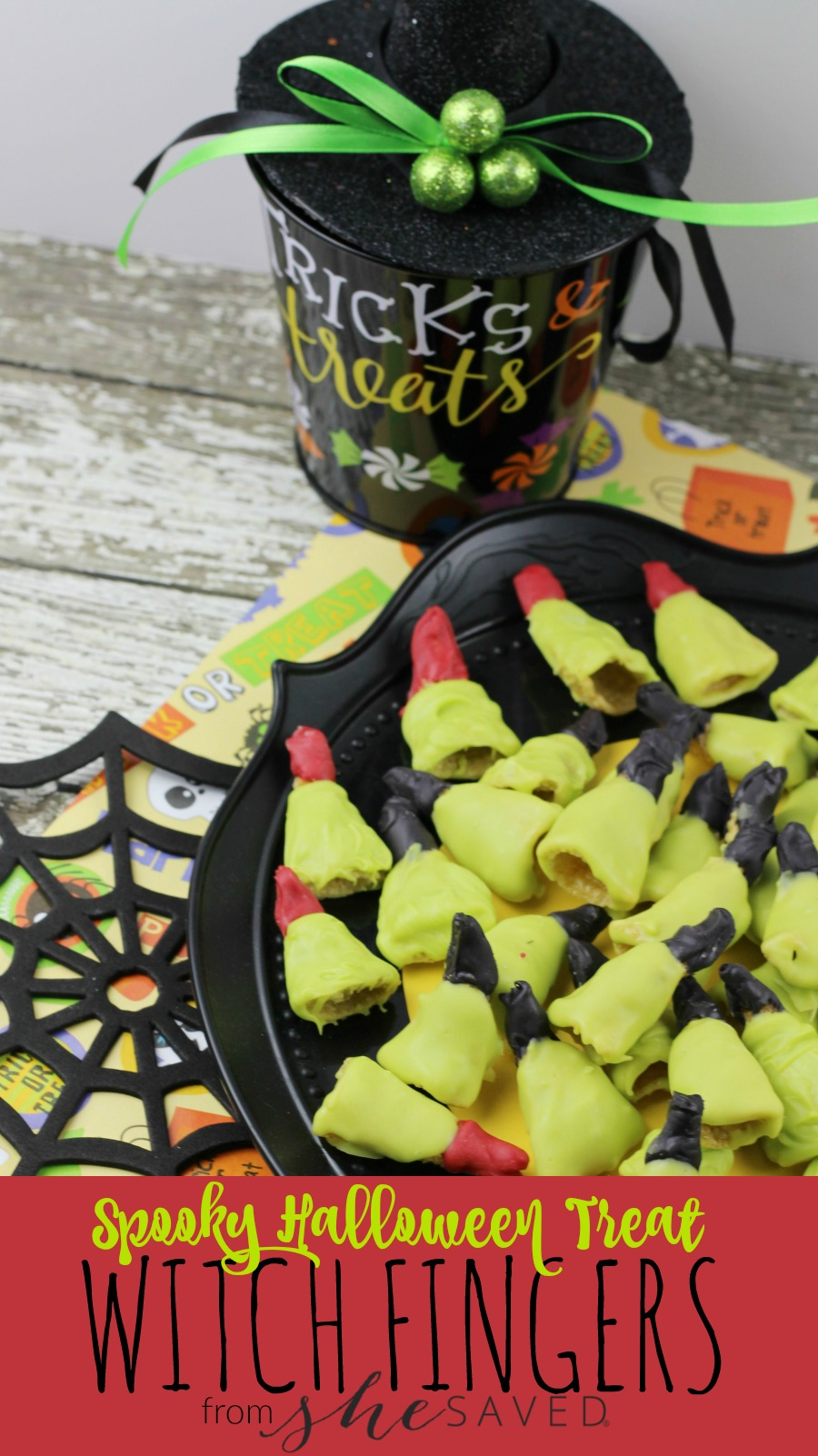 Looking for a spooky and easy Halloween party snack? Check out our fun Bugle Witch Fingers, the kids will love them!