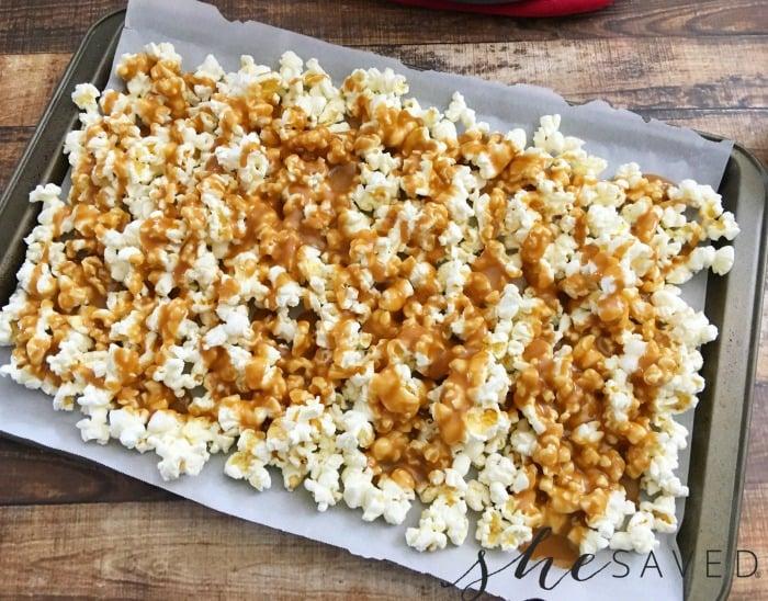 Drizzled Caramel Corn