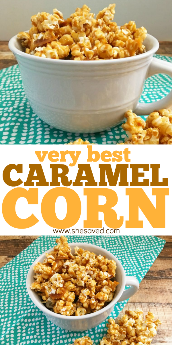 The Very Best Caramel Corn Recipe