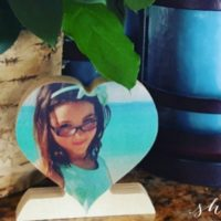 Think VALENTINE'S DAY! Custom Wood Photo Hearts for ONLY $9.99 (+FREE Ship WYB 2!)