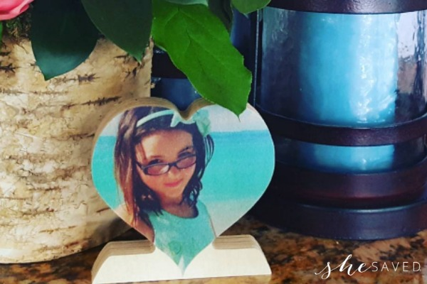 Mother's Day Gift Idea! Custom Wood Photo Hearts for ONLY $9 + FREE Shipping!!