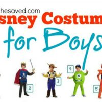 Halloween Ideas: Disney Costumes for Boys!