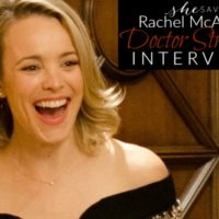 Interview: Rachel McAdams on Her Role in the Marvel Universe #DoctorStrangeEvent