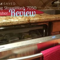 Best Buy Review: Samsung StormWash 7050 Dishwasher